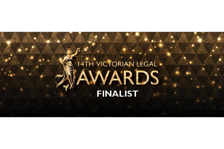14th Victorian Legal Awards Finalist