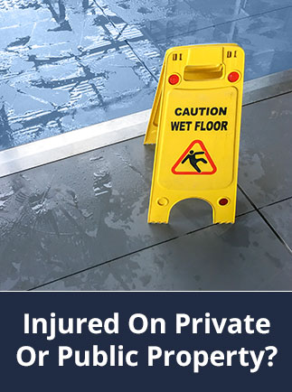 Injured On Private Or Public Property? Fortitude Legal can help, click this button to see further details on our Public Liability Claim related services