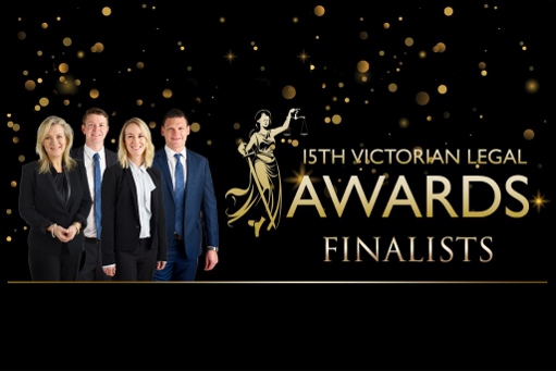 Finalists 15th Victorian Legal Awards!